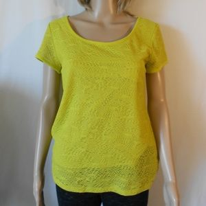 Ann Taylor Pull Over Shirt  Top Size medium
